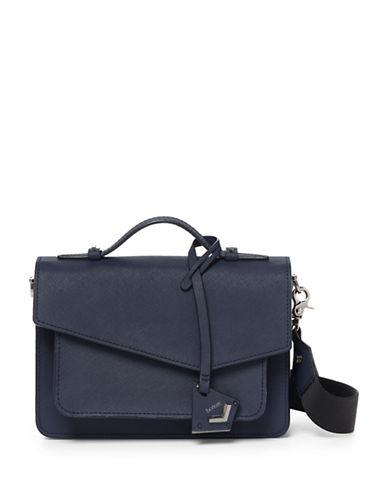 Botkier New York Cobble Hill Crossbody Bag-BLUE-One Size