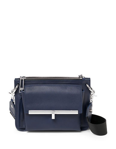 Botkier New York Bleecker Double Crossbody Bag-BLUE-One Size