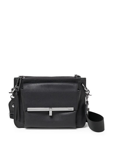 Botkier New York Bleecker Double Crossbody Bag-BLACK-One Size