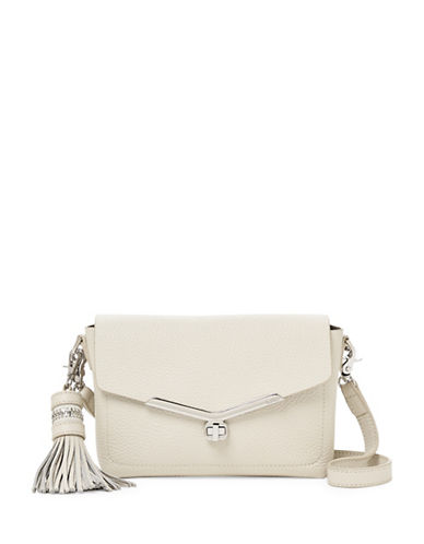Botkier New York Vivi Leather Crossbody Bag-IVORY-One Size
