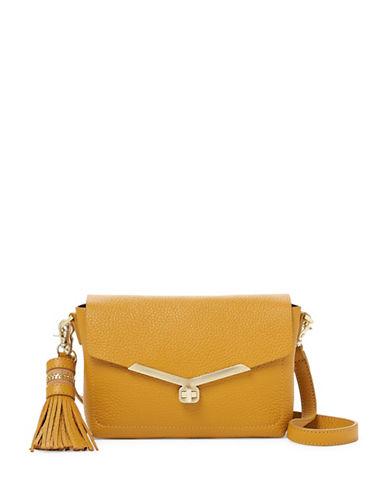 Botkier New York Vivi Leather Crossbody Bag-GOLDEN-One Size