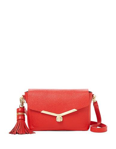 Botkier New York Vivi Leather Crossbody Bag-SIENNA-One Size