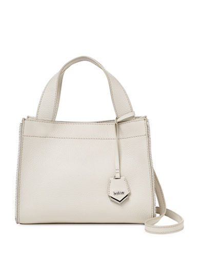Botkier New York Fulton Leather Tote-IVORY-One Size