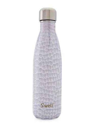 SWell Blanc Crocodile Stainless Steel Bottle-MULTI-500 ml