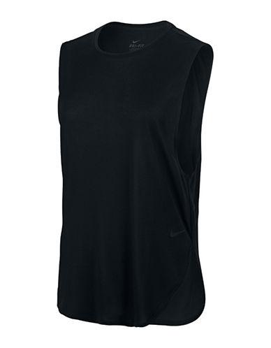 Nike Nike Elevated Sleeveless Tee-BLACK-Medium 88821787_BLACK_Medium