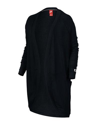 Nike Modern Open Front Cardigan-BLACK-X-Small 88547911_BLACK_X-Small