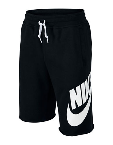 Nike Alumni Shorts-BLACK-Small