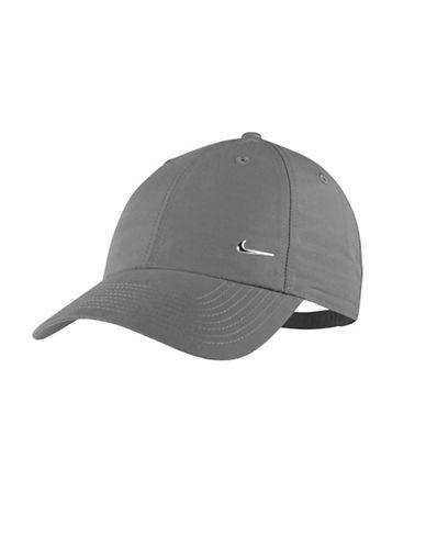 Nike Unisex Sportswear Cap-GREY-One Size
