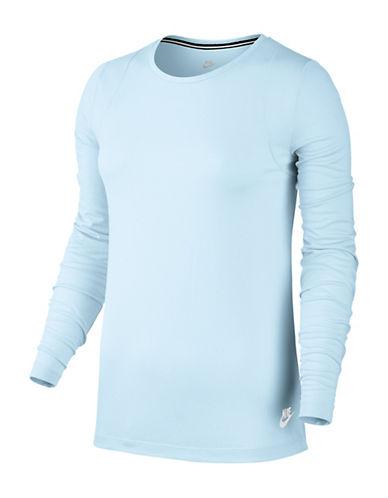 Nike Sportswear Essential Top-BLUE-X-Small 89687152_BLUE_X-Small