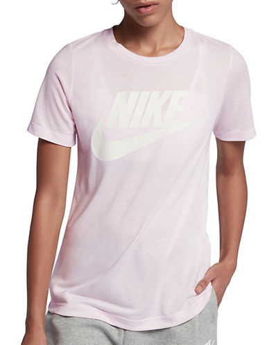 Nike Sportswear Essential Tee-PINK-Medium