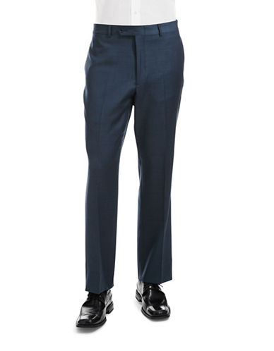 Tommy Hilfiger Modern Fit Suit Separate Pants-BLUE-36X30