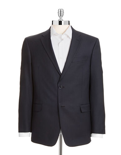 Tommy Hilfiger Modern Fit Suit Separate Jacket-NAVY-40 Regular