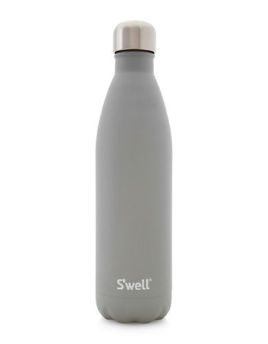 SWell Smokey Quartz Stainless Steel Bottle-GREY-One Size