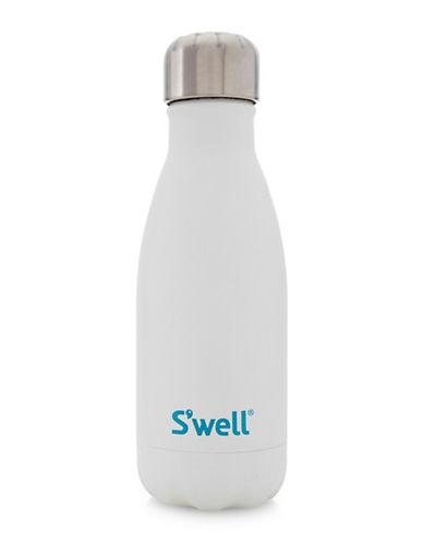 SWell Moonstone Quartz Stainless Steel Water Bottle-WHITE-One Size