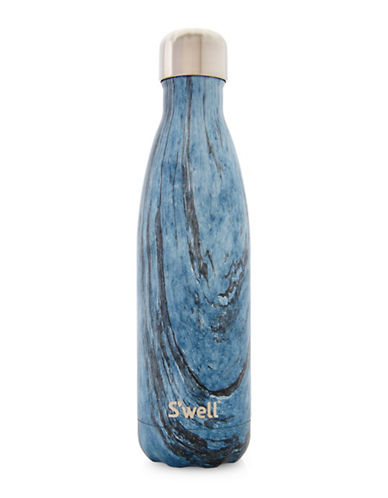 SWell Wood Dark Forest Bottle-BLUE-One Size
