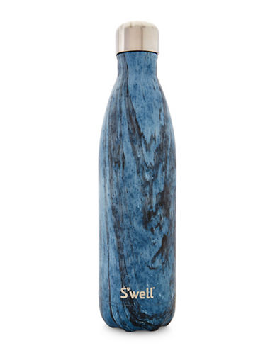 SWell Dark Forest Stainless Steel Bottle-BLUE-One Size