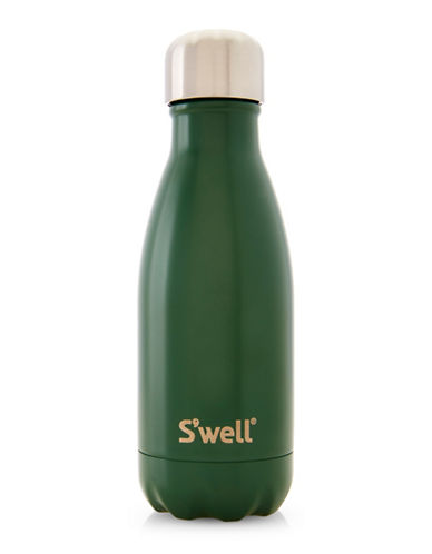 SWell Hunting Satin Stainless Steel Water Bottle-GREEN-One Size