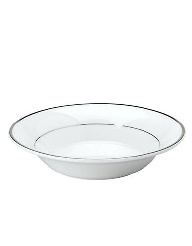 Mikasa Cameo Platinum Fruit Bowl-WHITE-One Size
