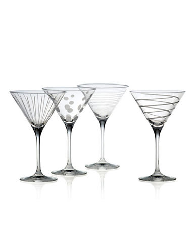 Mikasa Cheers Martini Glass Set Of 4-CLEAR-One Size