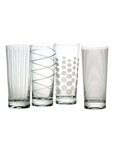 Mikasa Cheers Highball Glass  Set Of 4-CLEAR-One Size