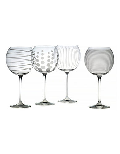 Mikasa Cheers Balloon Goblets   Set Of 4-CLEAR-One Size