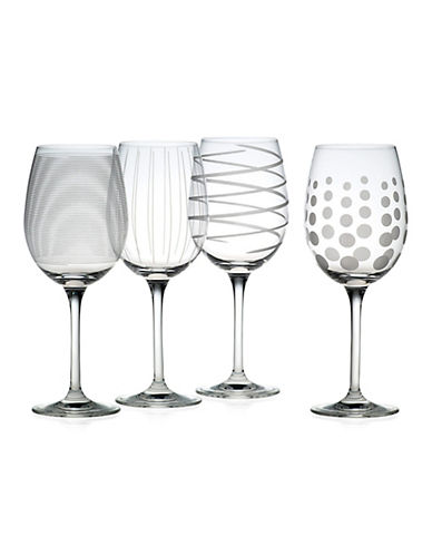 Mikasa Cheers White Wine Glass   Set Of 4-CLEAR-One Size