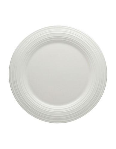 Mikasa Swirl Round Salad Plate-WHITE-8.5 Inches