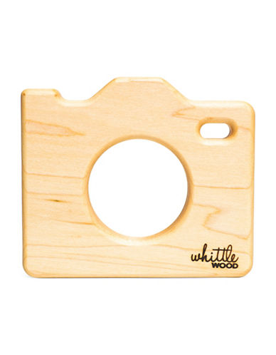 Whittle Wood Selfie Wooden Teether-MULTI-One Size