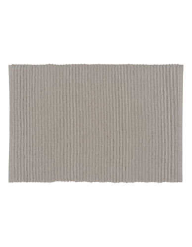 Now Designs Ribbed Placemat-COBBLESTONE-Placemat