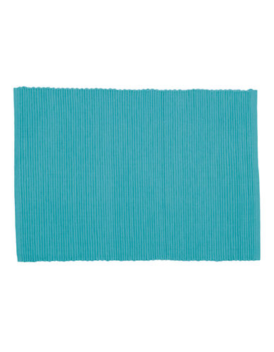 Now Designs Ribbed Placemat-TURQUOISE-Placemat