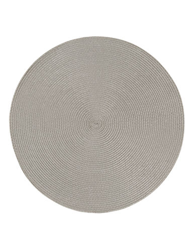 Now Designs Round Woven Placemat-COBBLESTONE-Placemat