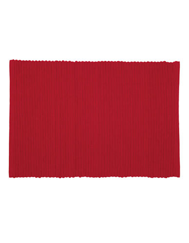 Now Designs Ribbed Placemat-CHILI-Placemat