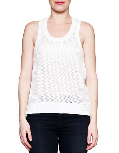 Arborist Crochet Tank-WHITE-X-Small/Small