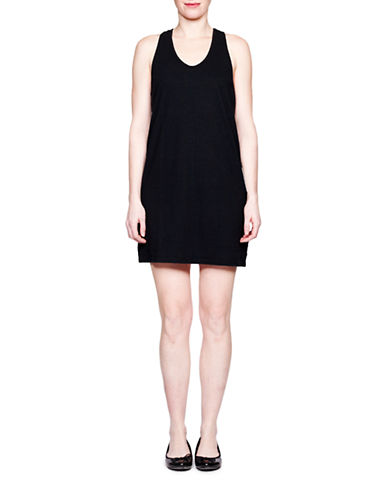 Held In Common Renee Tank Dress-BLACK-X-Small