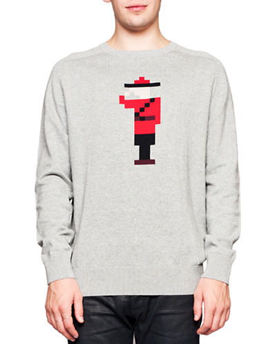 Arborist Knit Mountie Sweater-GREY-X-Large
