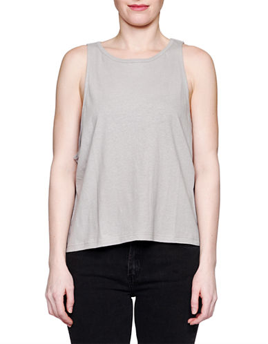 Held In Common Cara Tanktop-GREY-Large