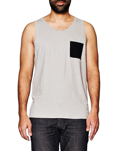Held In Common Brendan Tank Top-GREY-Large