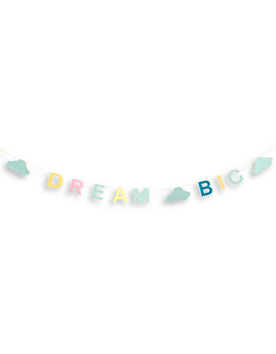 Milton Crawford Dream Big Party Garland-NO COLOUR-One Size