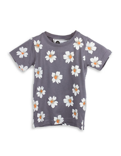 Drake General Store Kids Provincial Flower NS T-Shirt-ASSORTED-8-9