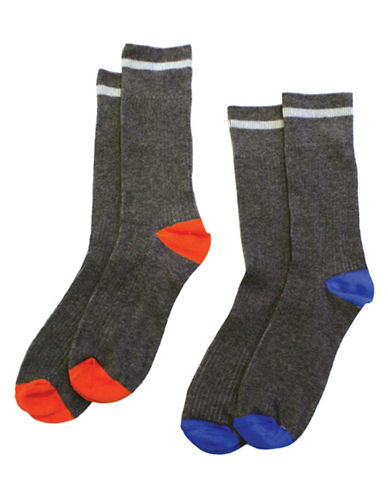 Drake General Store Two Pack Colourblock 2016 Socks-MULTI-One Size