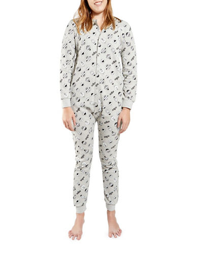 Drake General Store Sesame Street One Piece-LIGHT GREY-Small