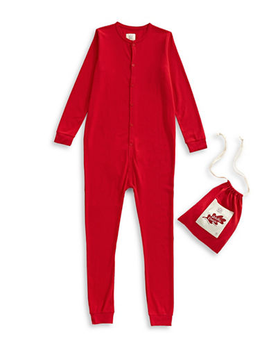Drake General Store Adult Thermal Sleeper-RED-X-Small