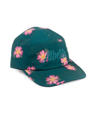 Drake General Store Alberta Wildrose Provincial Flower Baseball Cap-PINK-S/M