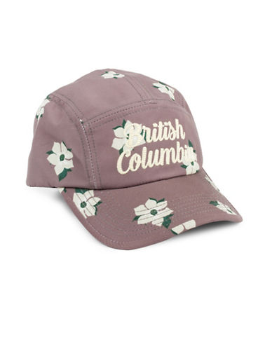 Drake General Store British Columbia Dogwood Provincial Flower Baseball Cap-MULTI-S/M