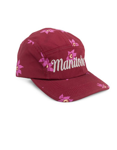 Drake General Store Manitoba Prairie Crocus Provincial Flower Baseball Cap-MULTI-M/L