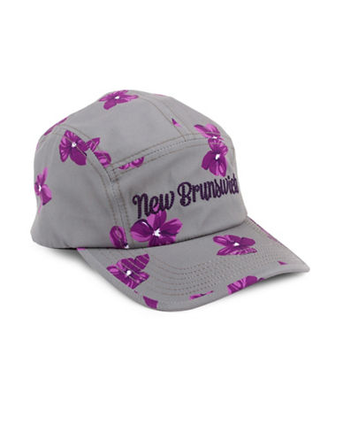 Drake General Store New Brunswick Provincial Flower Baseball Cap-PURPLE-S/M