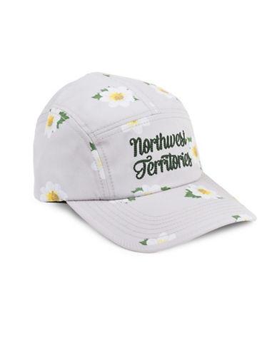 Drake General Store Northwest Territories Mountain Avens Provincial Flower Baseball Cap-ASSORTED-S/M