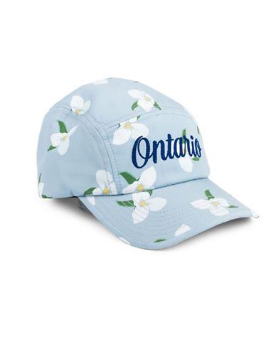 Drake General Store Ontario Trilliam Provincial Flower Baseball Cap-ASSORTED-S/M
