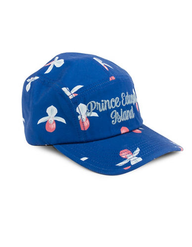 Drake General Store Prince Edward Island Ladys Slipper Provincial Flower Baseball Cap-MULTI-M/L