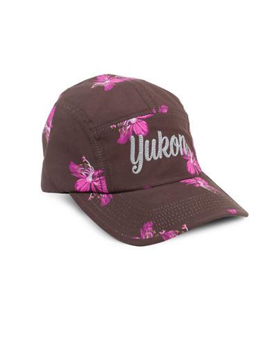 Drake General Store Yukon Fireweed Provincial Flower Baseball Cap-MULTI-M/L